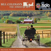 The-Amish-Gone-a-Courtin-Jigsaw-Puzzle-Bill-Coleman